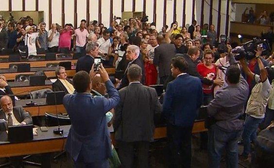[Após ocupação de plenário, AL-BA tenta votar reforma administrativa hoje]