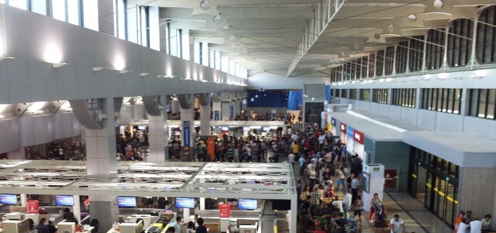[Aeroporto de Salvador recebe segunda etapa de requalificações]