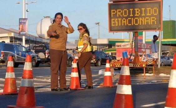 [Eventos alteram o tráfego de veículos no final de semana]