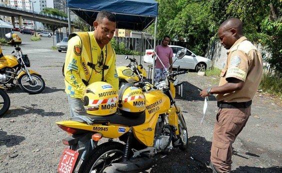 [Mototaxistas em Salvador do último credenciamento têm até terça-feira para fazer vistoria]