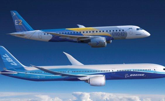 [Embraer e Boeing aprovam termos da nova empresa de aviação comercial]