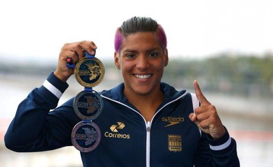[Pela quinta vez, Ana Marcela é eleita a melhor do mundo na maratona aquática]