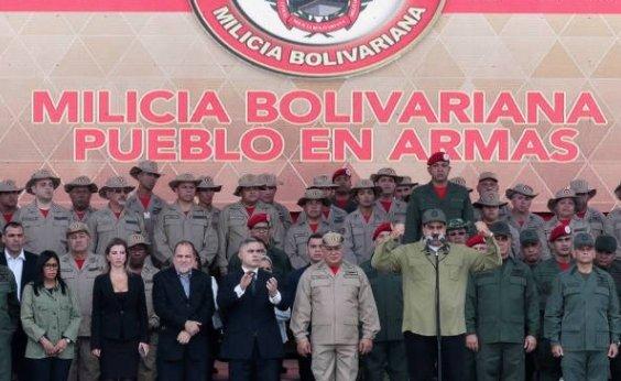 [Milícia Civil venezuelana já tem 1,6 mi de membros, diz Maduro]