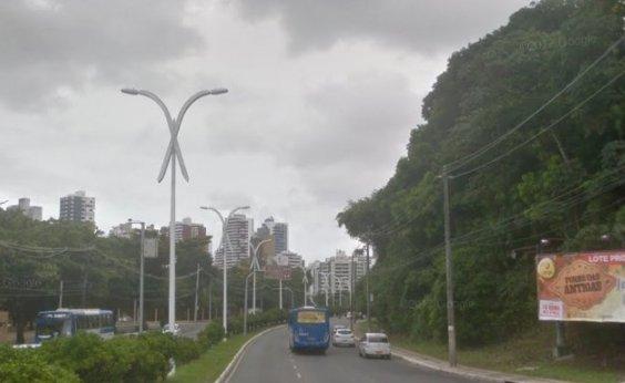 [Transalvador faz retorno provisório na ACM devido à obra do BRT no Itaigara]