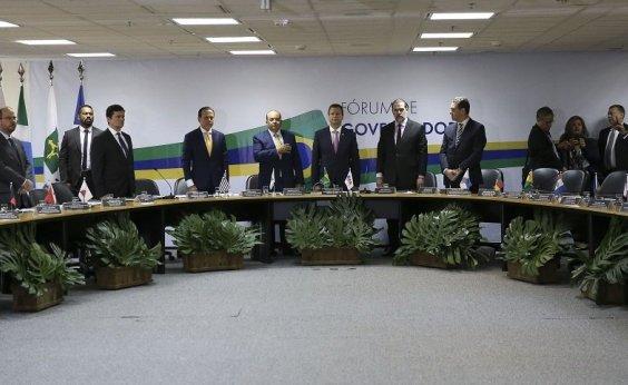 [Governadores planejam uma frente pró-reforma da previdência]