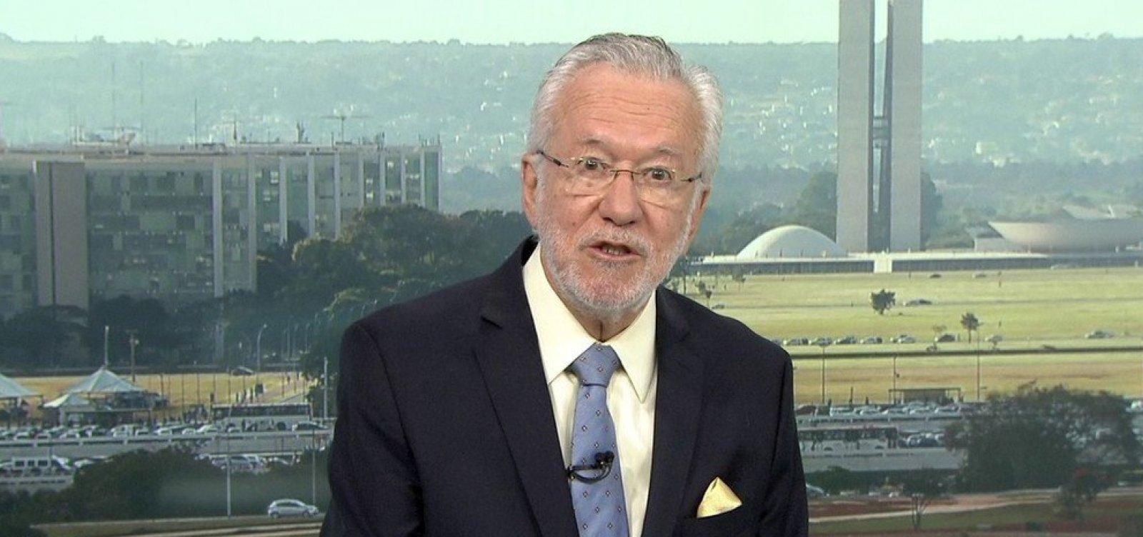 [Alexandre Garcia deixa a Rede Globo após 30 anos]