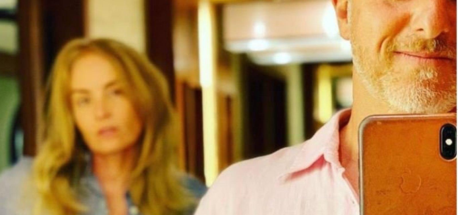 [Luciano Huck, Angélica e Fátima ironizam ministra Damares sobre 'rosa e azul']
