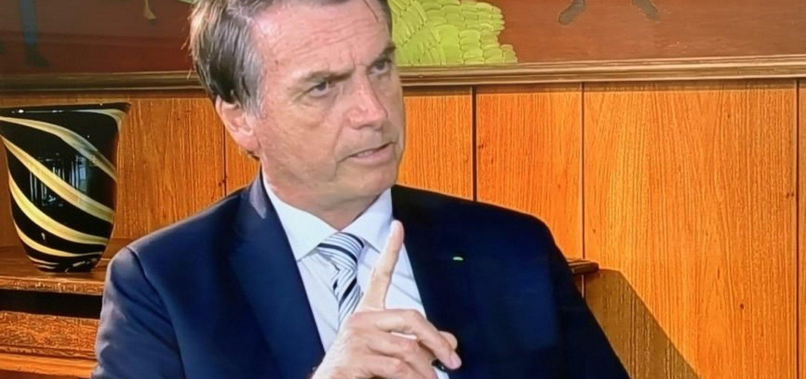 [Bolsonaro diz que sabia que Queiroz 'fazia rolo']