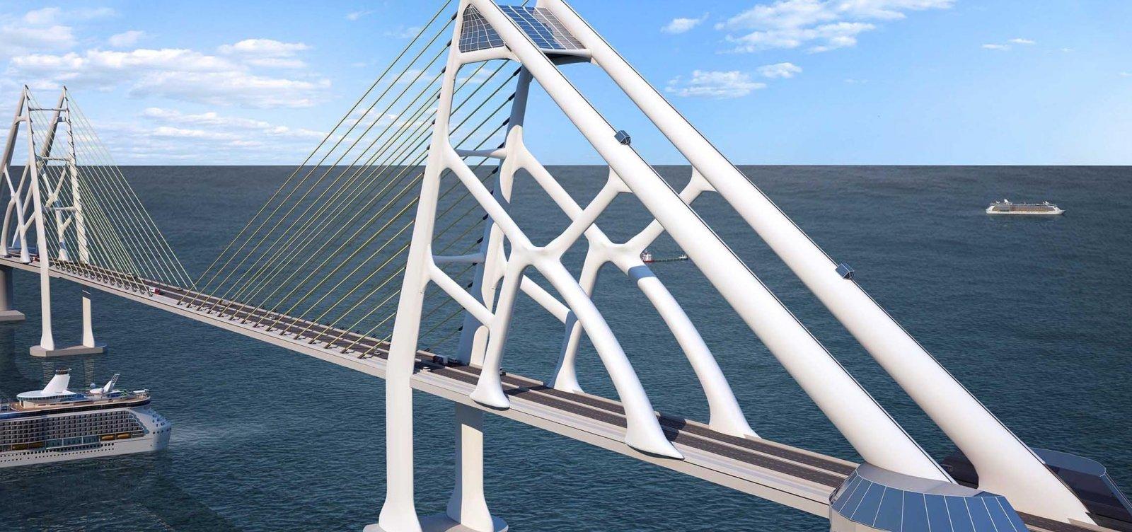 [Pedágio da Ponte Salvador-Itaparica custará em torno de R$ 40, diz vice-governador]