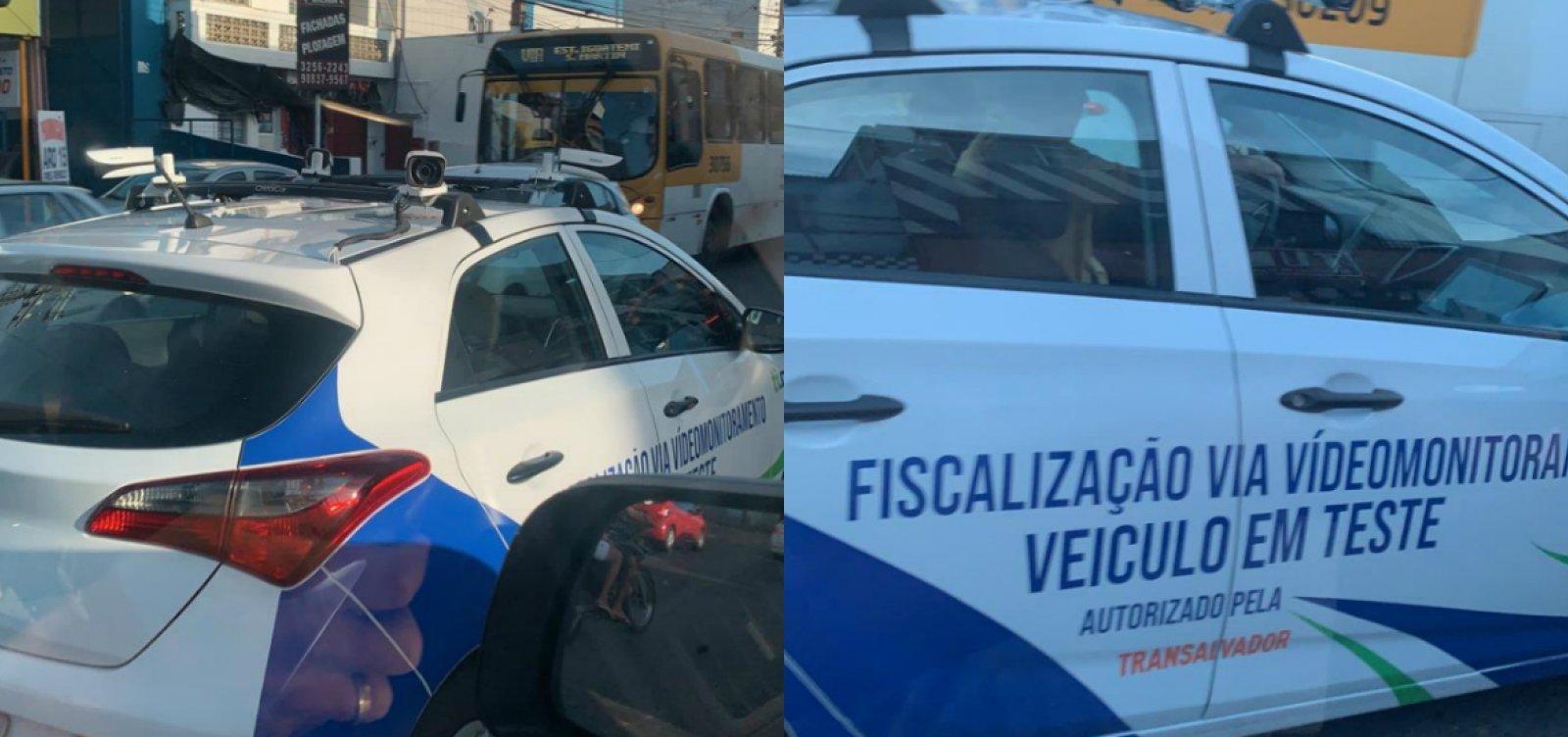 [Viaturas com câmeras acopladas não emitirão multas, tranquiliza Fabrizzio Müller]