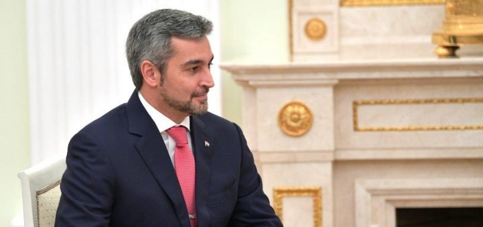 [Paraguai anuncia rompimento das relações diplomáticas com a Venezuela]