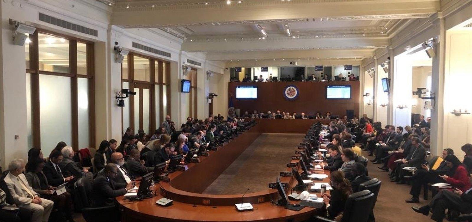 [Em reunião, OEA declara ilegitimidade no mandato de Maduro]