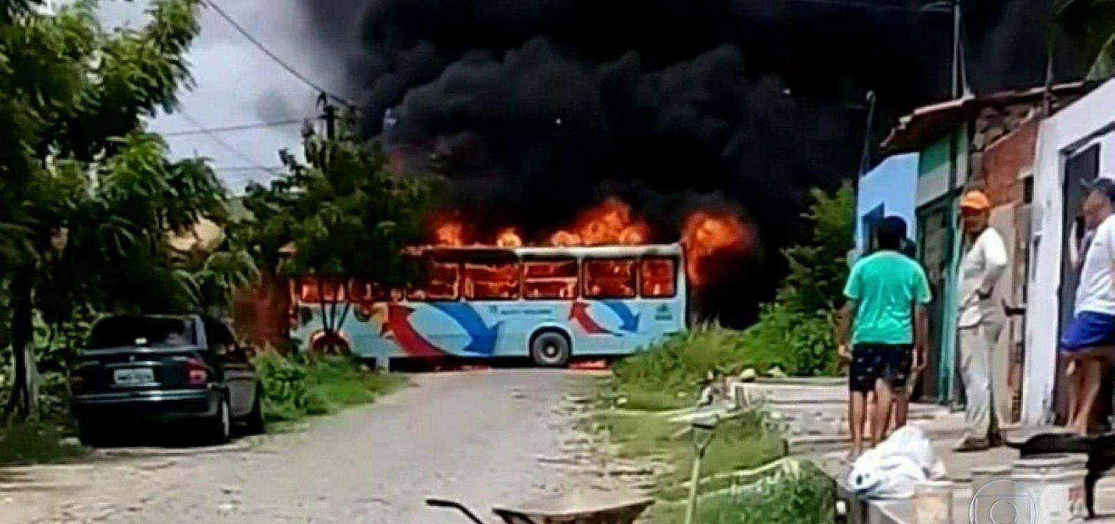 [Criminosos detonam explosivos em viaduto na 9ª noite de ataques no Ceará]