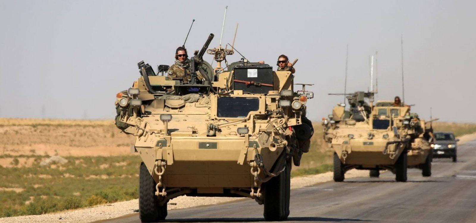 [Tropas dos EUA começam a ser retiradas da Síria]