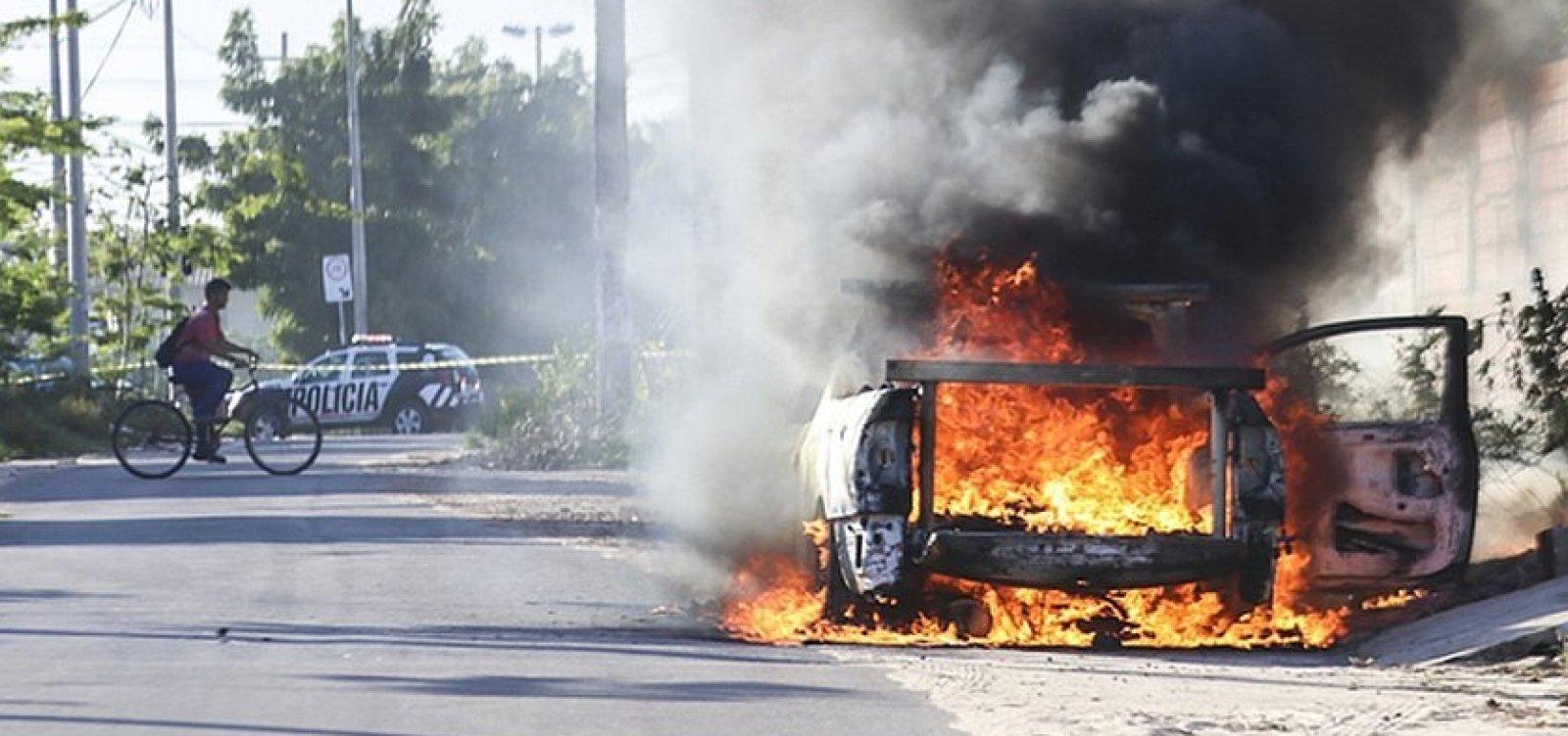 [Ceará registra mais de 300 detidos por suspeita de envolvimento em ataques]