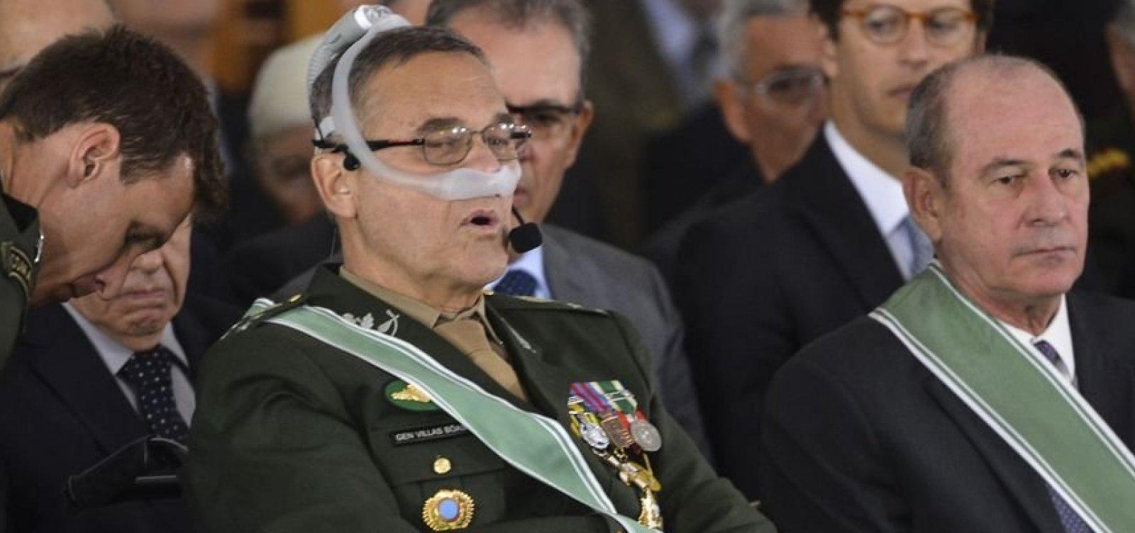 [General Villas Bôas vai continuar no governo]