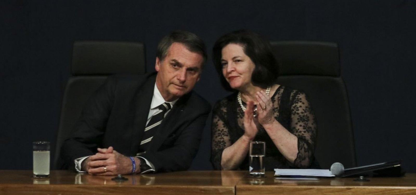 ['Bolsonaro renova a esperança dos brasileiros', diz Dodge]