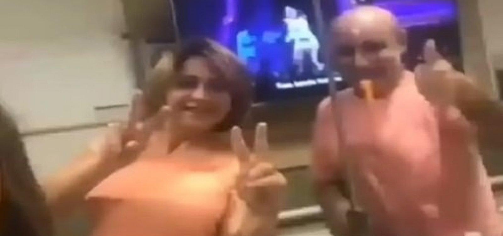 [Queiroz aparece em vídeo dançando no hospital]