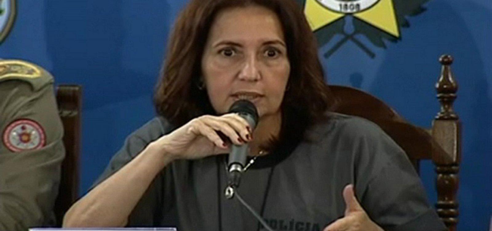 [Carro da Deputada Martha Rocha é alvo de tiros na Zona Norte do Rio]