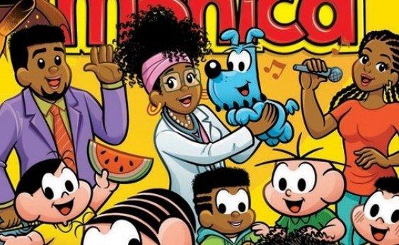 [Maurício de Sousa apresenta família da Milena, sua primeira personagem feminina negra]