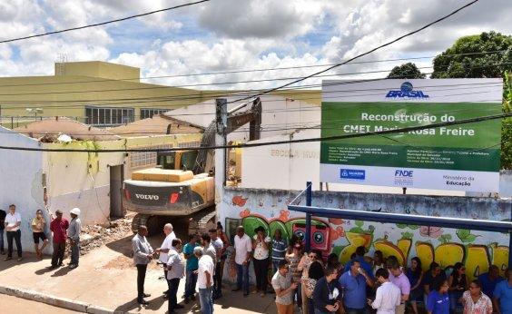 [Escola demolida no Subúrbio Ferroviário será reconstruída para 300 alunos]