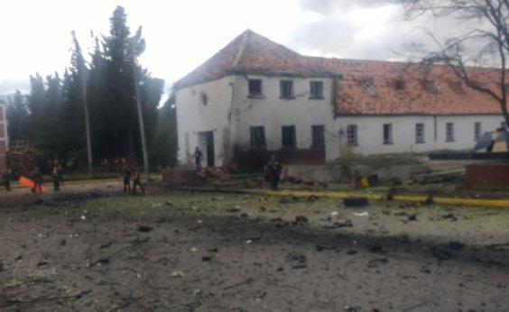 [Explosão em carro deixa mortos e feridos na Colômbia ]