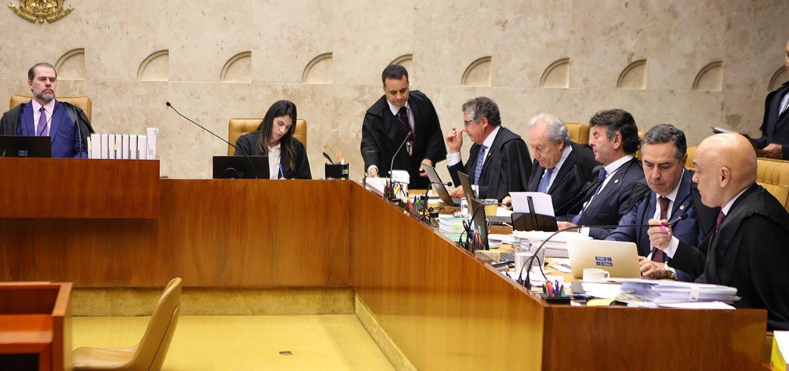 [Ministros do STF se surpreenderam com pedido de Flavio Bolsonaro, diz colunista]