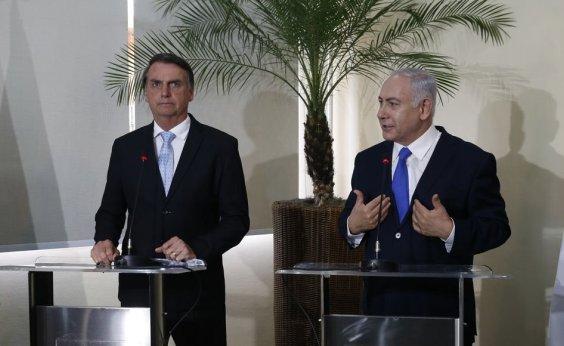 [Bolsonaro concede Ordem Nacional do Cruzeiro do Sul a Netanyahu]