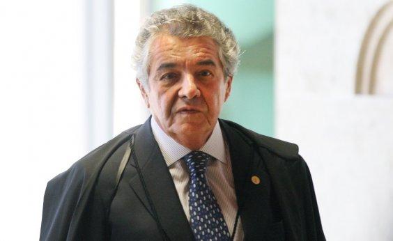 [Marco Aurélio diz que tem remetido ao lixo reclamações como as de Flávio Bolsonaro]