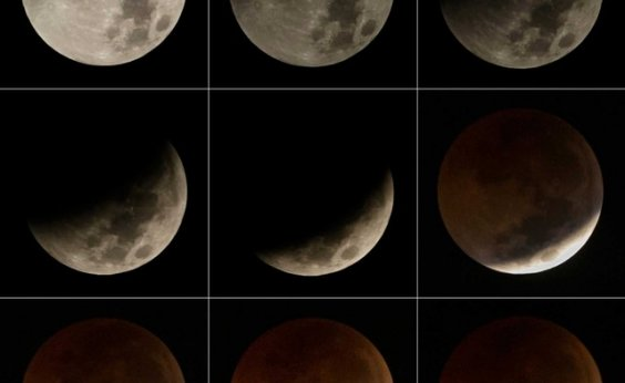 [Eclipse com 'superlua' será visível em todo o Brasil]