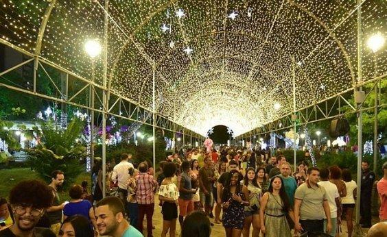 [Decoração do Campo Grande foi ponto turístico mais visitado durante Natal, diz pesquisa]