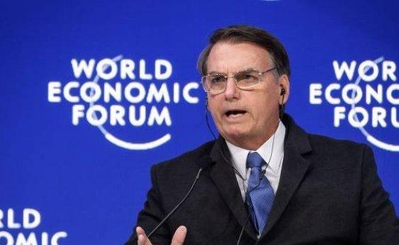 [Bolsonaro afirma que Brasil 'não será mais refúgio de criminosos na capa de presos políticos']