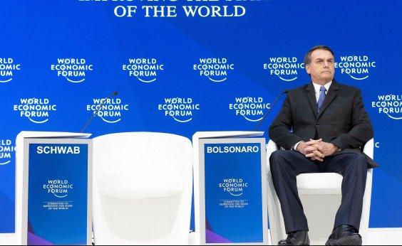 [Bolsonaro cancela entrevista coletiva em Davos de última hora]