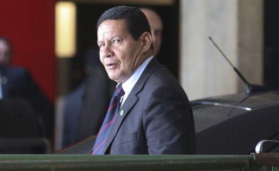 [Mourão reitera Bolsonaro e apoia punição de Flávio]