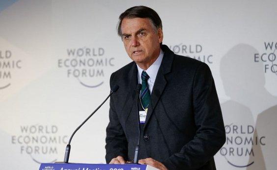 [À Record, Bolsonaro diz que tem condição de fazer 'tudo o que falou em Davos']