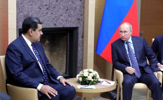 [Rússia alerta EUA a não fazer intervenção militar na Venezuela]