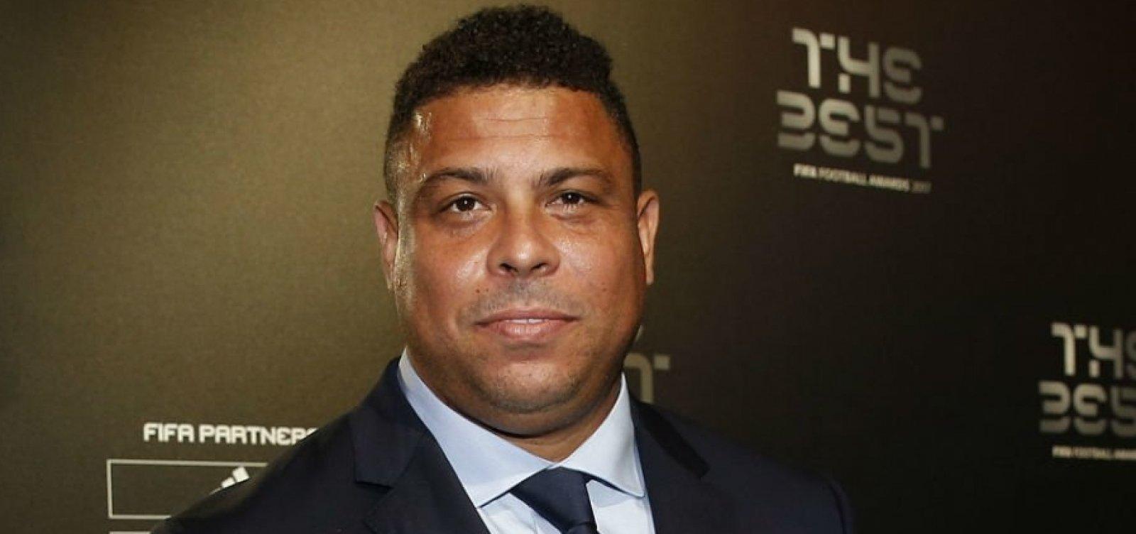 [Ronaldo Fenômeno é processado por não pagar despesas de filho]