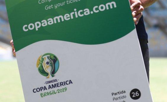 [Grupos da Copa América são sorteados hoje]