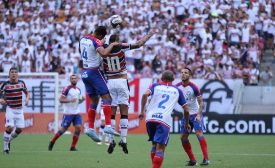 43281b77d0e11 Bahia vence Santa Cruz por 3 a 1 e conquista primeira vitória no Nordestão