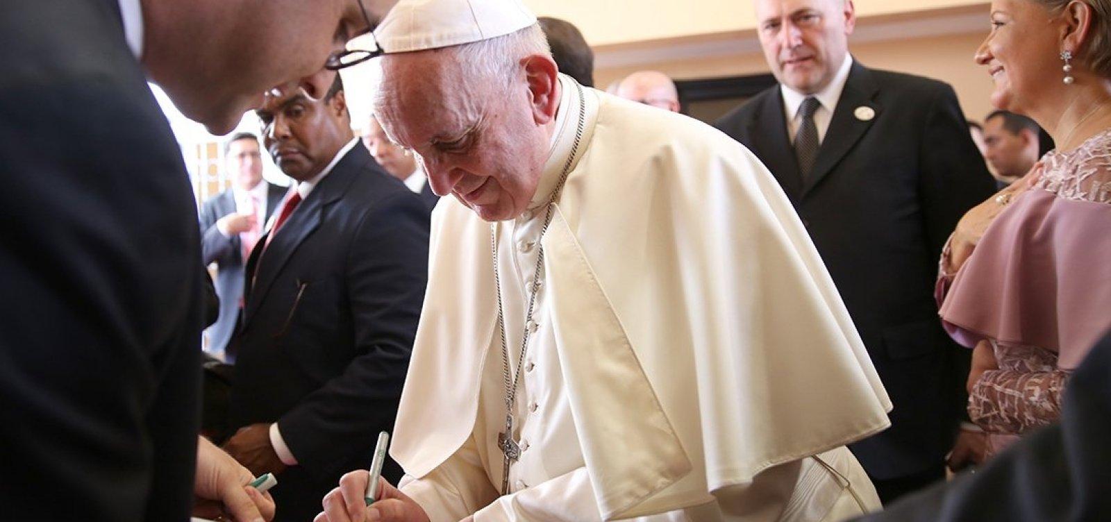[Papa se oferece para mediar diálogo na Venezuela]