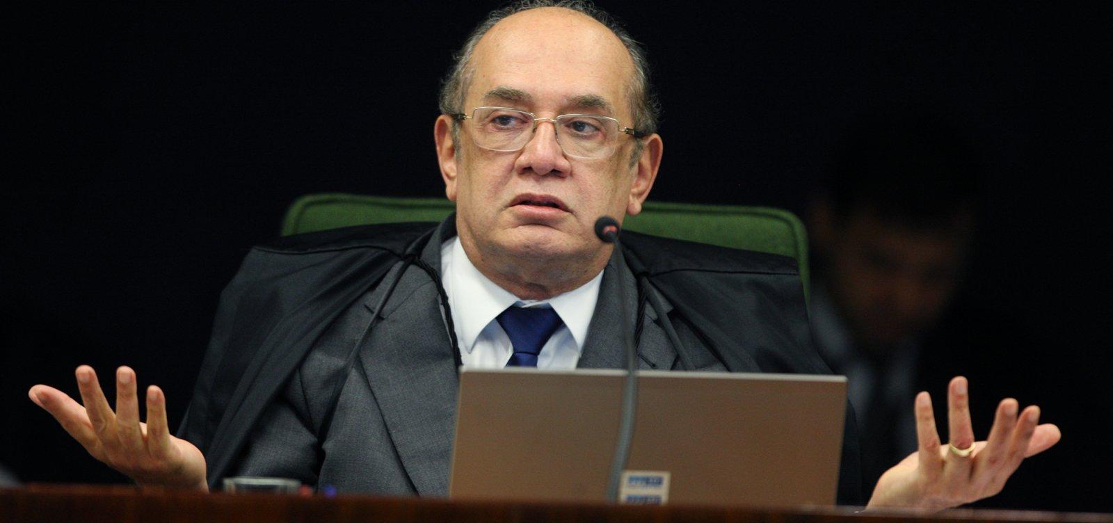 [Gilmar Mendes é investigado pela Receita e pede apuração a Toffoli]