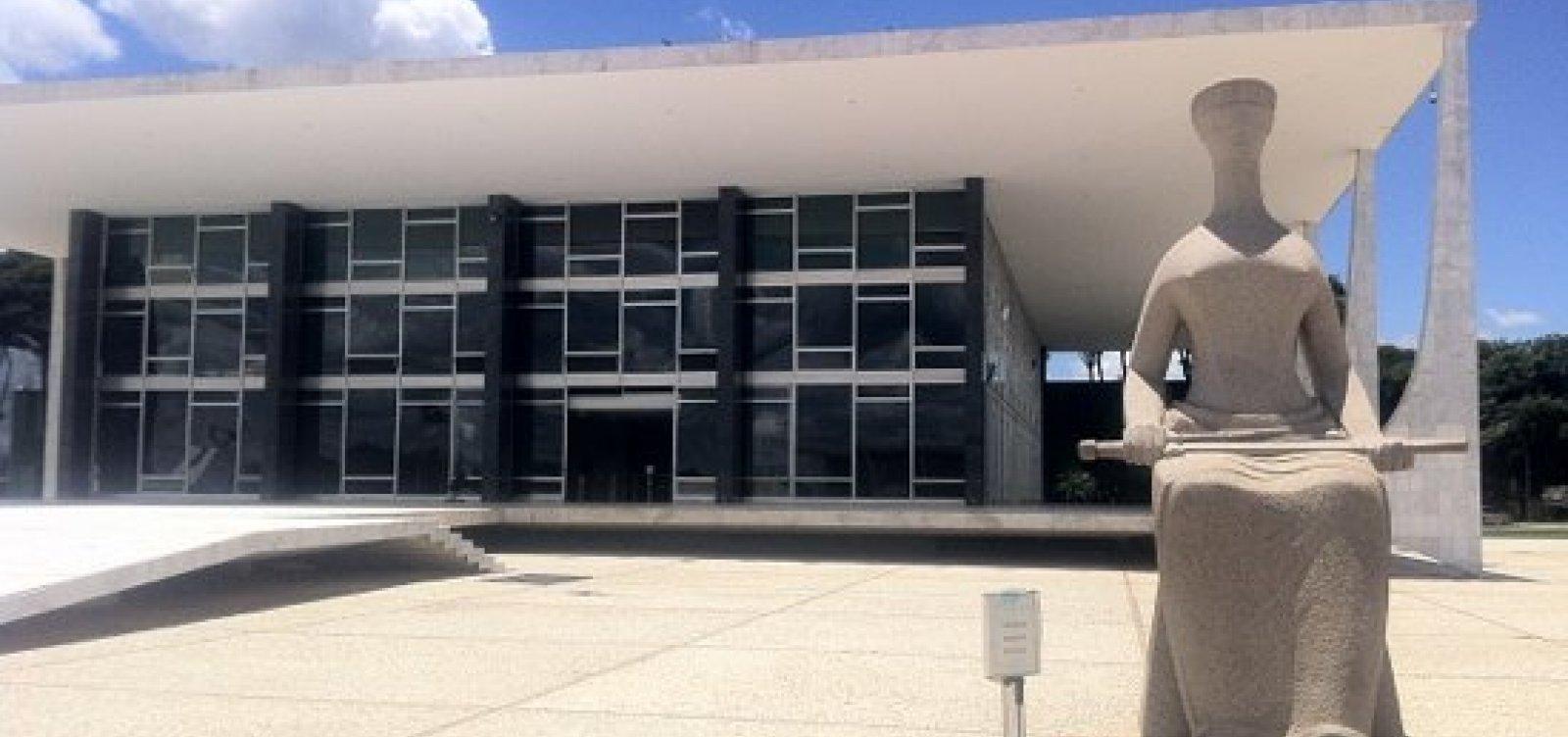 [Pensão vitalícia para ex-governadores da Bahia é inconstitucional, diz STF]