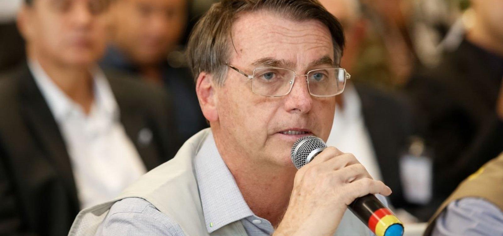 [Bolsonaro compartilha reportagem sobre mudanças na Lei Rouanet]