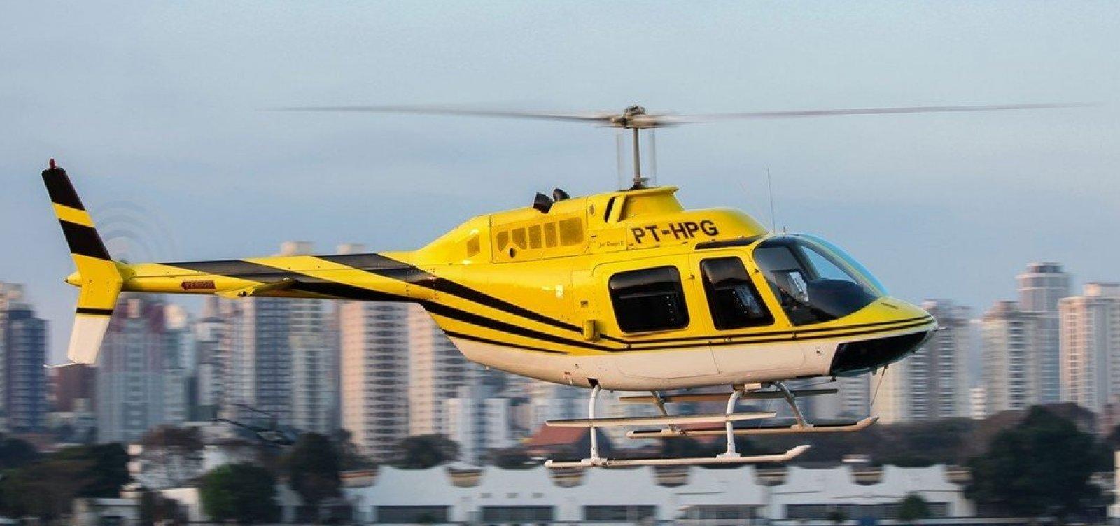 [Anac diz que empresa dona de helicóptero que transportava Boechat não podia fazer táxi aéreo]
