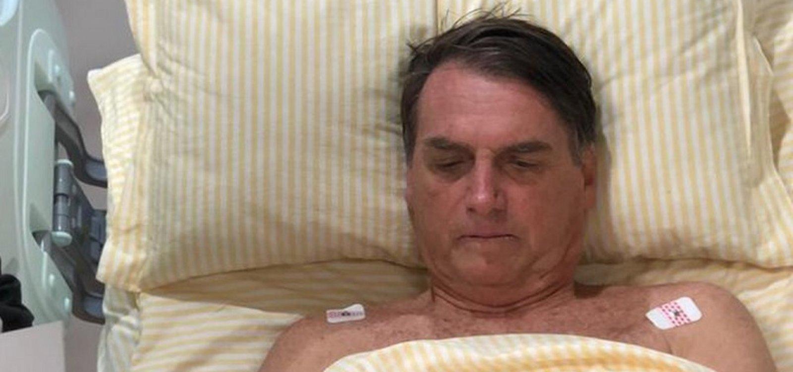 [Bolsonaro tem aval de equipe médica para ter alta nesta quarta]