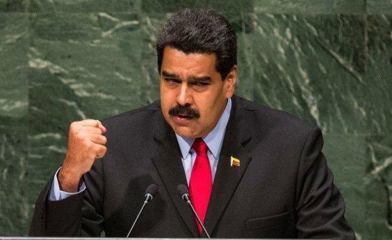 [Militares venezuelanos reforçam bloqueio de entrada da ajuda humanitária na fronteira com Colômbia]