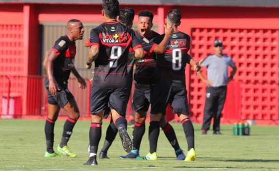 [Vitória empata com o Ceará em 1 a 1 no Barradão pela Copa do Nordeste]
