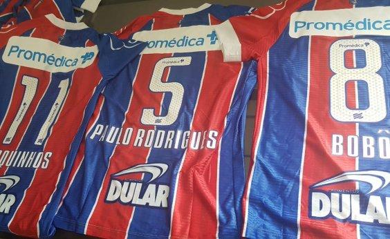 [Camisas dos jogadores do Bahia terão nomes dos campeões brasileiros de 88 ]