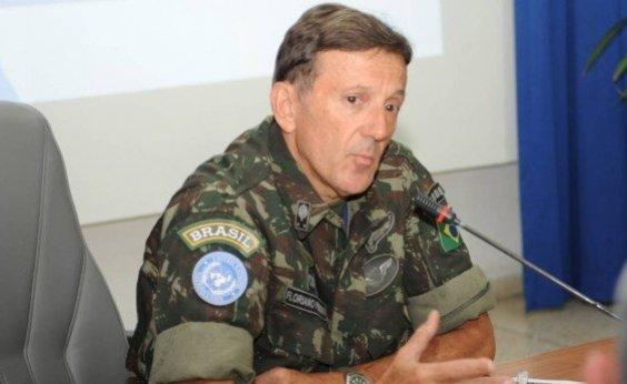 [General Floriano Peixoto vai ocupar interinamente ministério de Bebianno]