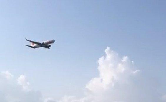 [Avião arremete e evita colisão em aeroporto de Noronha; veja vídeo]
